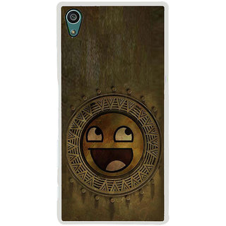 ifasho Smilee on wood Back Case Cover for Sony Xperia Z5