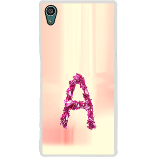 ifasho alphabet name series A Back Case Cover for Sony Xperia Z5