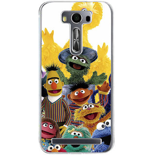 ifasho Cartoon Soft face many cartoons characters Back Case Cover for Zenfone 2 Laser ZE500KL