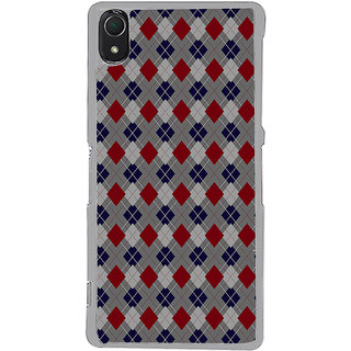 ifasho Animated Pattern design colorful in royal style Back Case Cover for Sony Xperia Z3