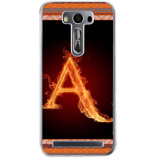 ifasho alphabet name series A Back Case Cover for Zenfone 2 Laser ZE500KL
