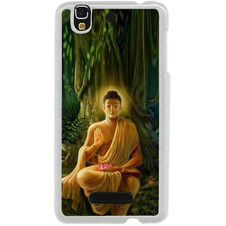 ifasho Lord Budha Back Case Cover for Yureka