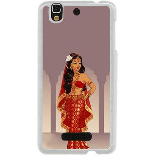 ifasho Draupadi Mahabharat Back Case Cover for Yureka