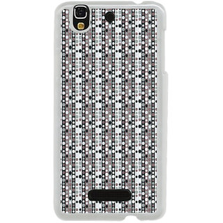 ifasho Animation Clourful Circle Pattern Back Case Cover for Yureka