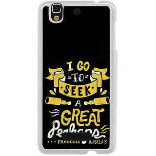 ifasho Life quote Back Case Cover for Yureka