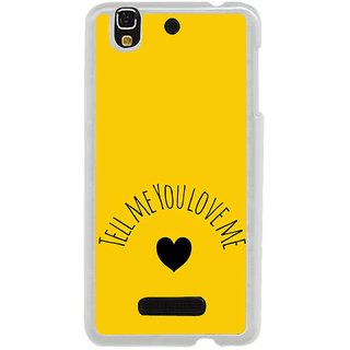 ifasho Love  Quotes  Back Case Cover for Yureka