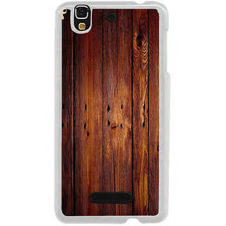 ifasho Animated Royal Pattern with Wooden back ground Back Case Cover for Yureka