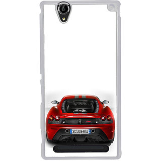 ifasho Back side Car Back Case Cover for Sony Xperia T2