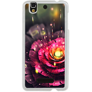 ifasho water Drop on flower Back Case Cover for Yureka