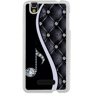 ifasho Modern Art Design Pattern Music symbol Back Case Cover for Yureka