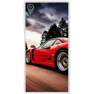 ifasho racing car Back Case Cover for Sony Xperia Z5