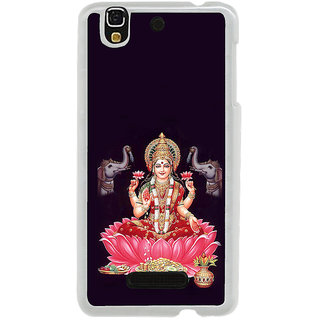 ifasho Lord Laxmi Back Case Cover for Yureka