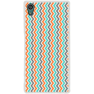 ifasho Animated Pattern of Chevron Arrows  Back Case Cover for Sony Xperia Z5