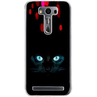 ifasho shining eyes of cat Back Case Cover for Zenfone 2 Laser ZE500KL