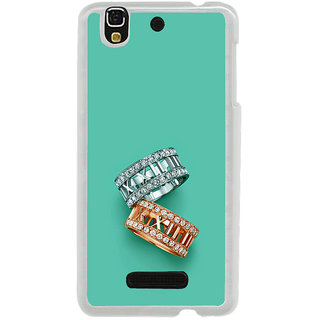 ifasho Engagement Ring Back Case Cover for Yureka