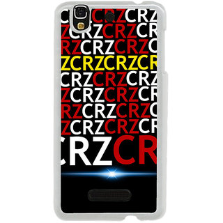 ifasho Crazy Quotes Back Case Cover for Yureka