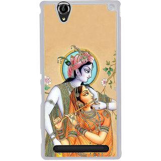 ifasho radha Krishna Back Case Cover for Sony Xperia T2