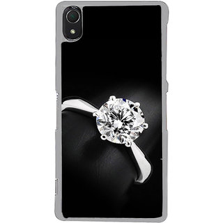 ifasho Engagement Ring Back Case Cover for Sony Xperia Z3