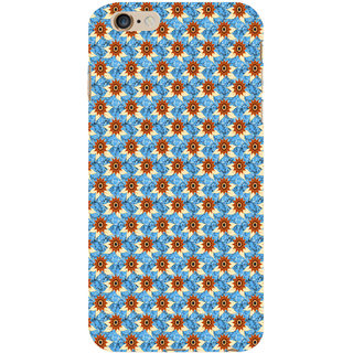 ifasho Modern Art Design animated cloth Pattern of sunflower Back Case Cover for Apple iPhone 6S Plus
