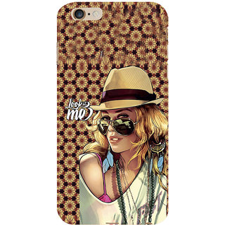 ifasho Look at me Girl Back Case Cover for Apple iPhone 6S Plus