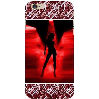 ifasho Girl dancing Back Case Cover for   6S Plus