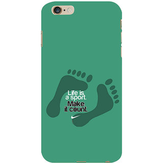 ifasho life Quotes sports quotes Back Case Cover for Apple iPhone 6S Plus