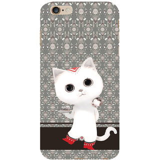 ifasho Winking and Dancing  Cat Back Case Cover for Apple iPhone 6S Plus