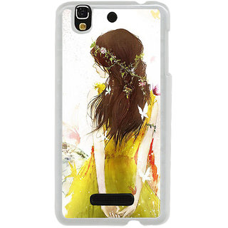 ifasho Princess painting Back Case Cover for Yureka