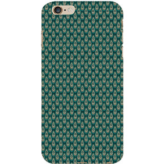 ifasho Animated Pattern design colorful flower in royal style Back Case Cover for Apple iPhone 6S Plus