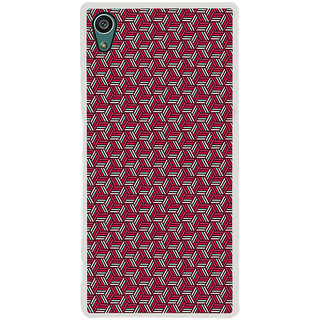 ifasho Design lines pattern Back Case Cover for Sony Xperia Z5