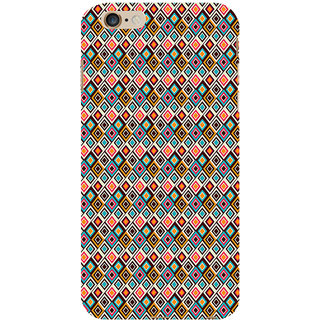 ifasho Animated Pattern design colorful in royal style Back Case Cover for Apple iPhone 6S Plus