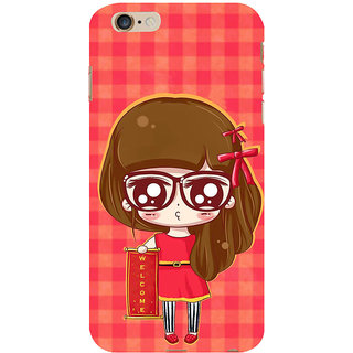 ifasho Crazy Girl Back Case Cover for Apple iPhone 6S Plus