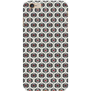 ifasho Modern Theme of royal design in black and white pattern Back Case Cover for   6S Plus