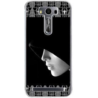 ifasho covered Girl and Spider Back Case Cover for Zenfone 2 Laser ZE500KL