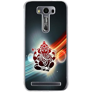 ifasho Modern Art Ganesh Back Case Cover for Zenfone 2 Laser ZE500KL