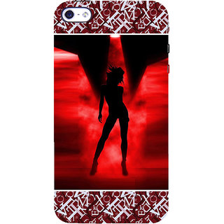 ifasho Girl dancing Back Case Cover for Apple iPhone 5