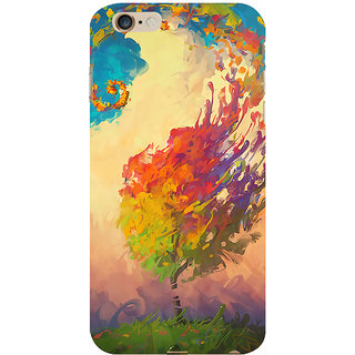 ifasho 3Dee Painting Back Case Cover for Apple iPhone 6S Plus
