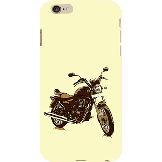 ifasho Royal Bike Back Case Cover for Apple iPhone 6S Plus