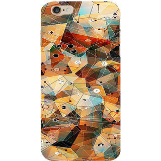 ifasho Modern Theme of royal design in colorful pattern Back Case Cover for Apple iPhone 6S Plus