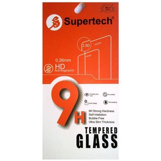 LYF Water 10 Tempered Glass Screen Guard By Supertech