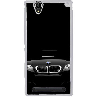 ifasho Stylish long Car Back Case Cover for Sony Xperia T2