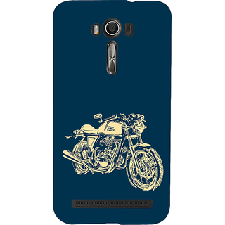 ifasho Fierry Bike Back Case Cover for Asus Zenfone 2 Laser ZE601KL
