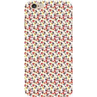 ifasho Animated Pattern colourful littel stars Back Case Cover for Apple iPhone 6S Plus