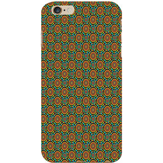 ifasho Animated Pattern design colorful flower in white background Back Case Cover for Apple iPhone 6S Plus