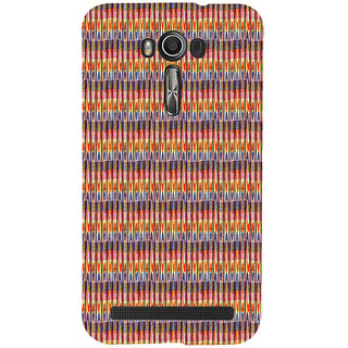 ifasho Animated Pattern of Chevron style pencils arrows Back Case Cover for Asus Zenfone 2 Laser ZE601KL