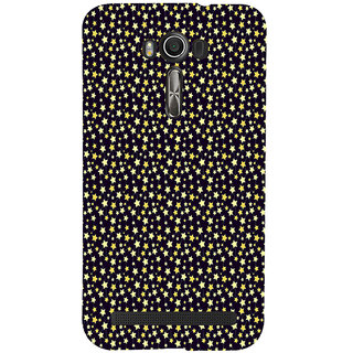 ifasho Animated Pattern colourful littel stars Back Case Cover for Asus Zenfone 2 Laser ZE601KL