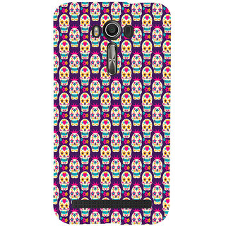 ifasho Modern  Design animated skeleton Pattern Back Case Cover for Asus Zenfone 2 Laser ZE601KL
