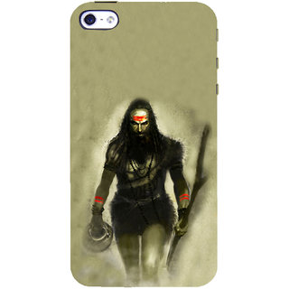 ifasho Siva in smasan Back Case Cover for Apple iPhone 5