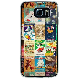 ifasho Animated Pattern colourful hollywood film posters  Back Case Cover for Samsung Galaxy S6