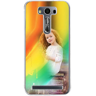 ifasho Girl playing Back Case Cover for Zenfone 2 Laser ZE500KL